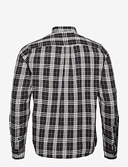 Wood Wood - Andrew flannel shirt - linnen overhemden - olive check - 1