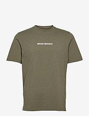 Sami logo T-shirt - DUSTY GREEN