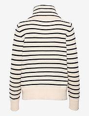 Wood Wood - Clementine classic merino jumper - trøjer - navy/off-white stripes - 1
