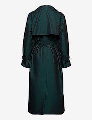 Wood Wood - Sara iridescent trench coat - trenchcoats - black - 1