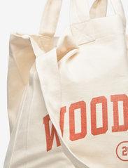 Wood Wood - High canvas shopper - shoppers - blood orange - 3