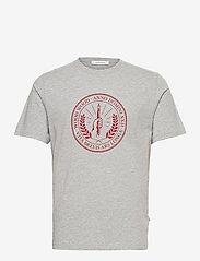 Sami seal T-shirt - GREY MELANGE
