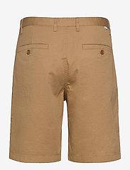 Wood Wood - Jonathan light twill shorts - chino's shorts - khaki - 1