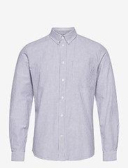 Adam oxford shirt - BLUE STRIPES