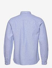 Wood Wood - Adam oxford shirt - linnen overhemden - light blue - 1