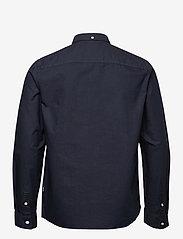 Wood Wood - Adam oxford shirt - linnen overhemden - navy - 1