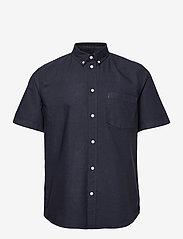 Michael oxford shirt SS - NAVY
