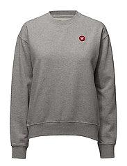Jess sweatshirt - GREY MELANGE