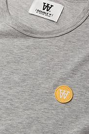 Wood Wood - Uma T-shirt - t-shirts - grey melange - 2