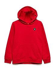 Izzy kids hoodie - RED
