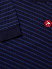 Wood Wood - Aya dress - robes - navy/blue stripes - 2