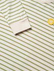 Wood Wood - Aya dress - robes - off-white/olive stripes - 2