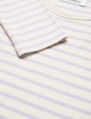 Wood Wood - Moa long sleeve - langærmede toppe - off-white/lilac stripes - 2
