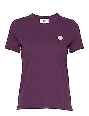 Uma T-shirt - AUBERGINE