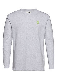 Mel long sleeve - LIGHT GREY MELANGE