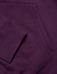 Wood Wood - Ian hoodie - basic sweatshirts - aubergine - 3