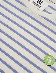 Wood Wood - Ace T-shirt - À manches courtes - off-white/blue stripes - 2