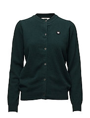 Arly cardigan - DARK GREEN