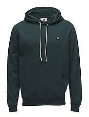 Ian hoodie - PINE GREEN