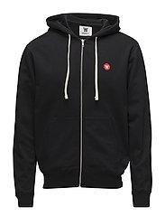 Dan zip hoodie - BLACK