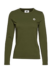 Moa long sleeve - ARMY GREEN