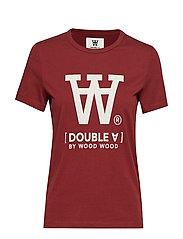 Uma T-shirt - DARK RED