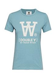 Uma T-shirt - DUSTY BLUE