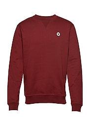 Tye sweatshirt - DARK RED