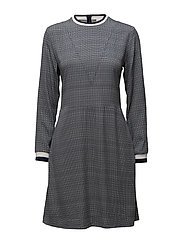 Pilar dress - NAVYCHECK