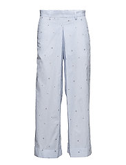 Marion trousers - WHITE/BLUE
