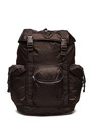 Mills backpack - DARK BROWN