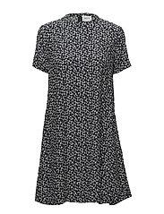 Sita dress - FLORAL NAVY