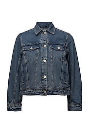 Alia jacket - AUTHENTIC BLUE