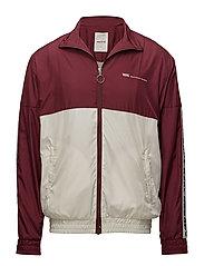 Homer Jacket - DARK RED/OFF-WHITE