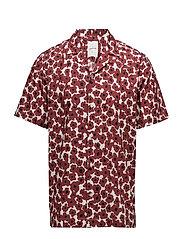Brandon shirt - FLORAL RED