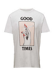 Good Times T-shirt - BRIGHT WHITE