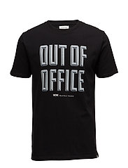 Out of Office T-shirt - BLACK