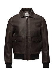 Dean jacket - DARK BROWN