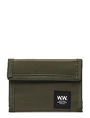 Marley velcro wallet - DARK GREEN