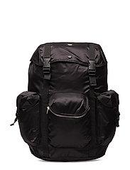 Mills backpack - BLACK
