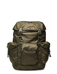 Mills backpack - DARK GREEN