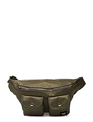 Gray bumbag - DARK GREEN