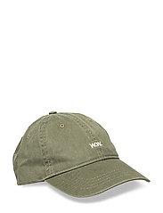 Low profile cap - DARK GREEN
