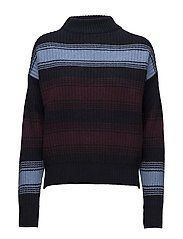 Felice sweater - NAVY STRIPE