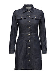 Cori dress - INDIGO RINSE