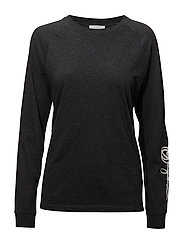 Halli long sleeve - DARK GREY MELANGE
