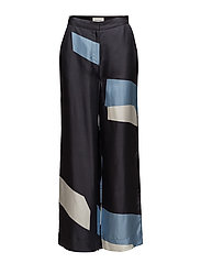 Darla trousers - NAVY GRAPHIC