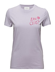 Eden T-shirt - LIGHT PURPLE