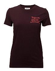 Eden T-shirt - BURGUNDY