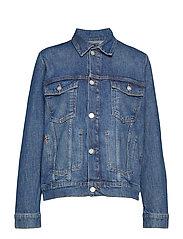 Angel jacket - MID BLUE